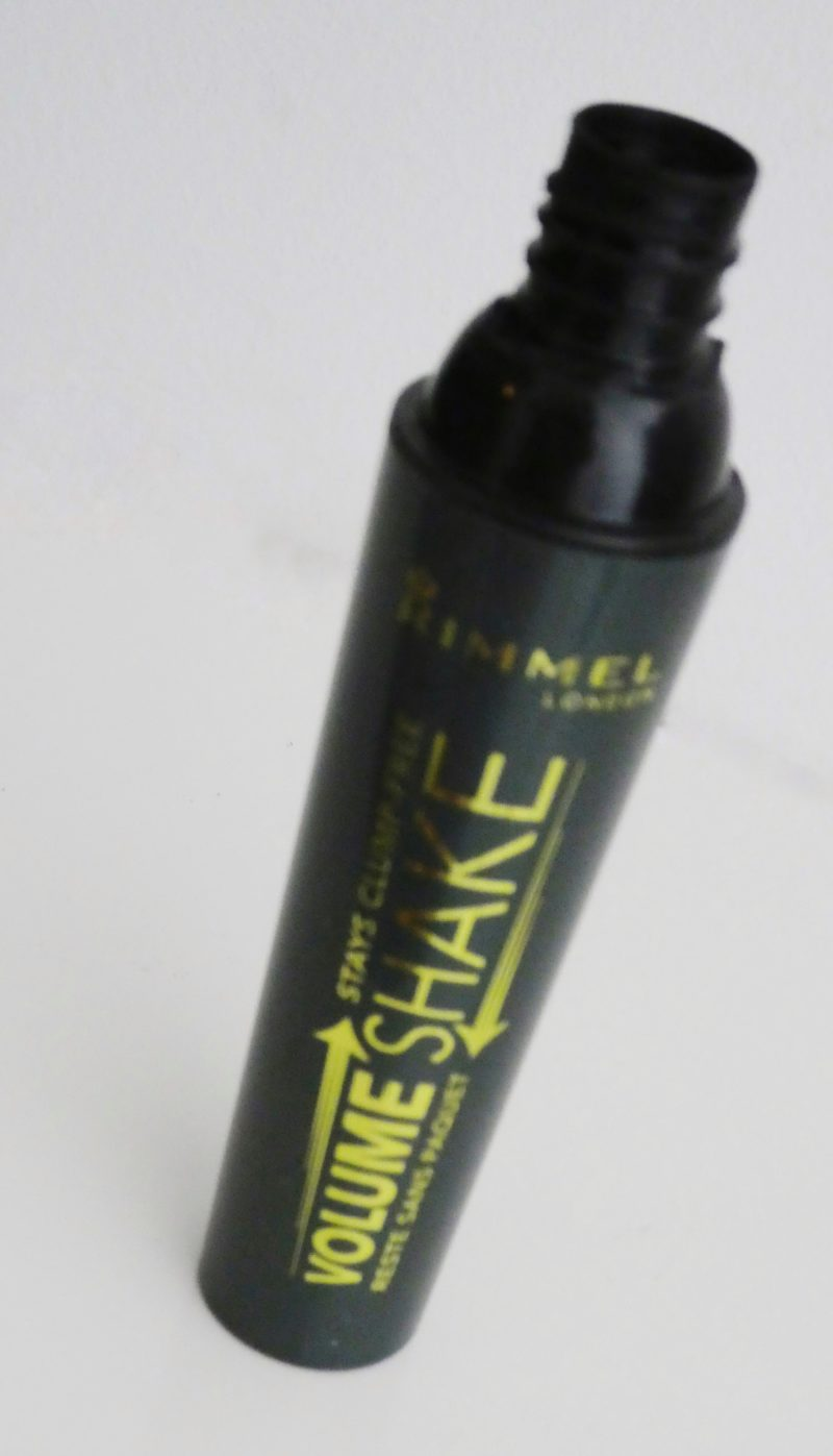 Rimmel Volume Shake mascara tube